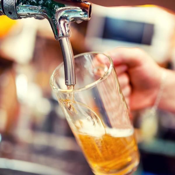 Магазин разливных напитков (пиво, квас)